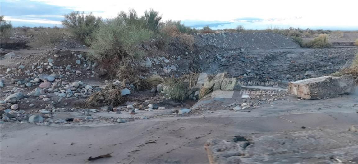 Palo Blanco daños tras la tormenta 2