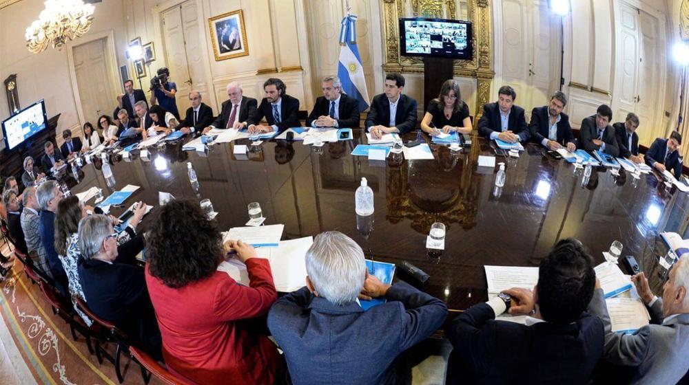 Alberto Fernandez y los gobernadores